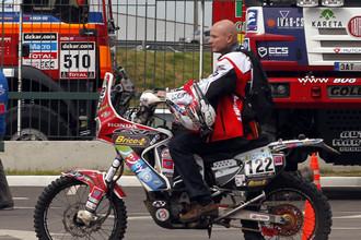 Эрик Палант погиб на пятом этапе ралли «Дакар-2014»