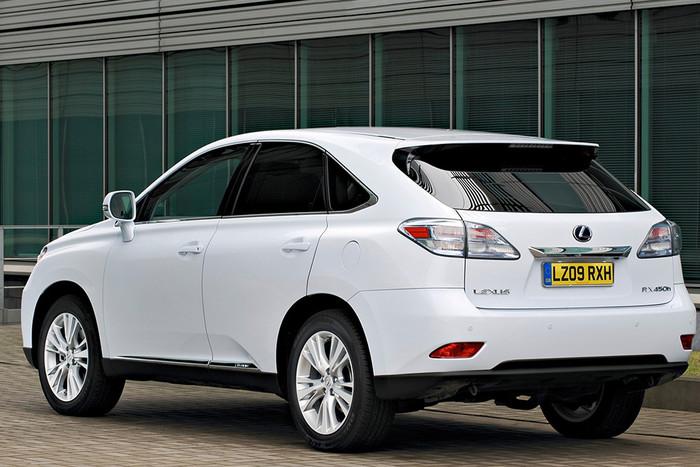 Lexus 450h hybrid