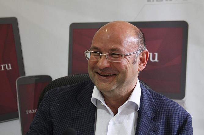 Генеральный директор риелторской компании «Магистрат» Алексей Болдин в редакции «Газеты.Ru»