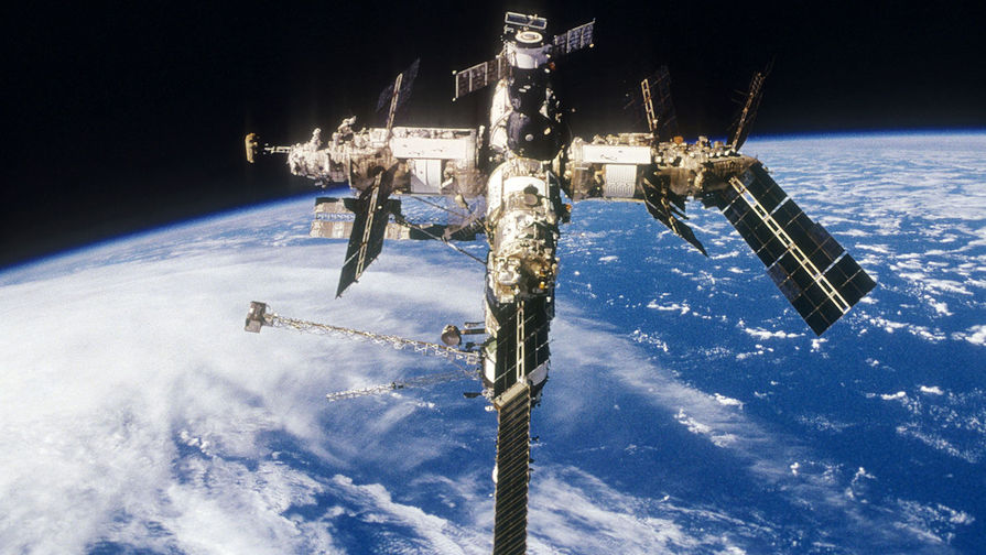 Российская орбитальная станция «Мир»