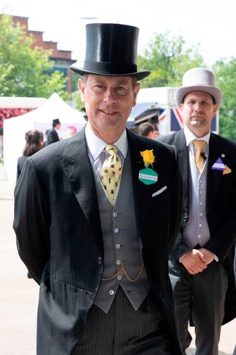 Принц Эдвард, граф Уэссекский на церемонии открытия Royal Ascot, 15 июня 2021 года