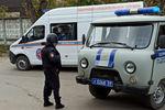 Машины полиции и аварийно-спасательной службы уПермского государственного университета, 20 сентября 2021 года