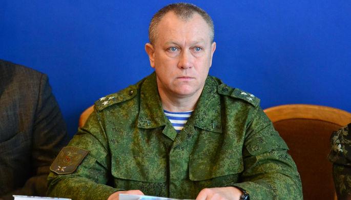 Начальник управления народной милиции ЛНР полковник Олег Анащенко
