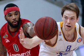 «Локомотив-Кубань» и «Химки» продолжают борьбу за баскетбольный Еврокубок