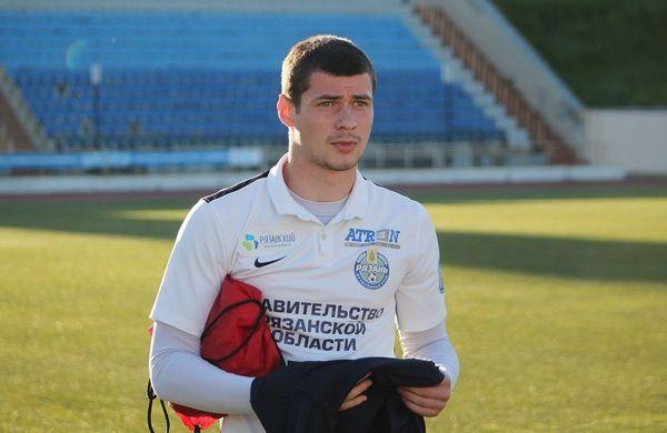 Футболист «Рязани» Дмитрий Митин