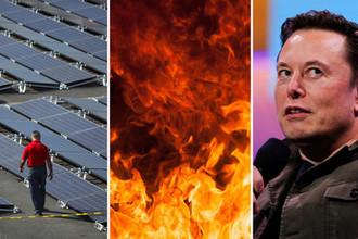 Провал Илона Маска: почему горят батареи Tesla
