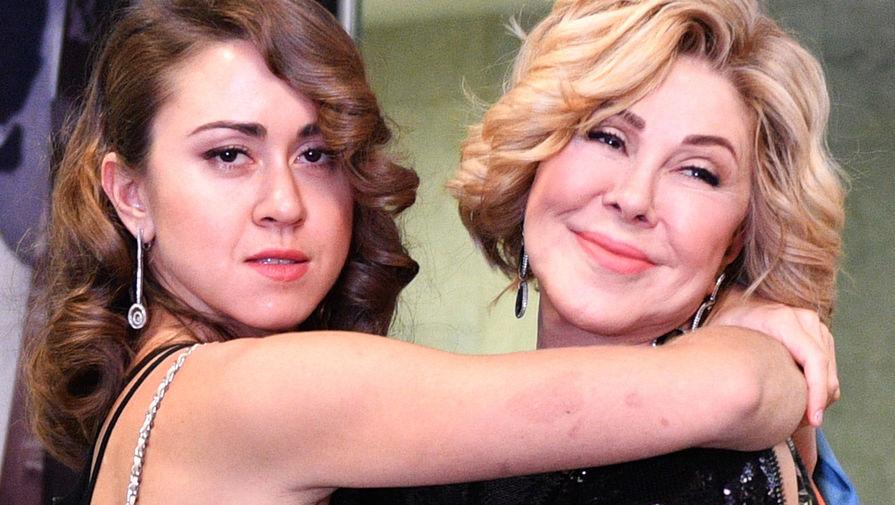 Певица Любовь Успенская с дочерью Татьяной