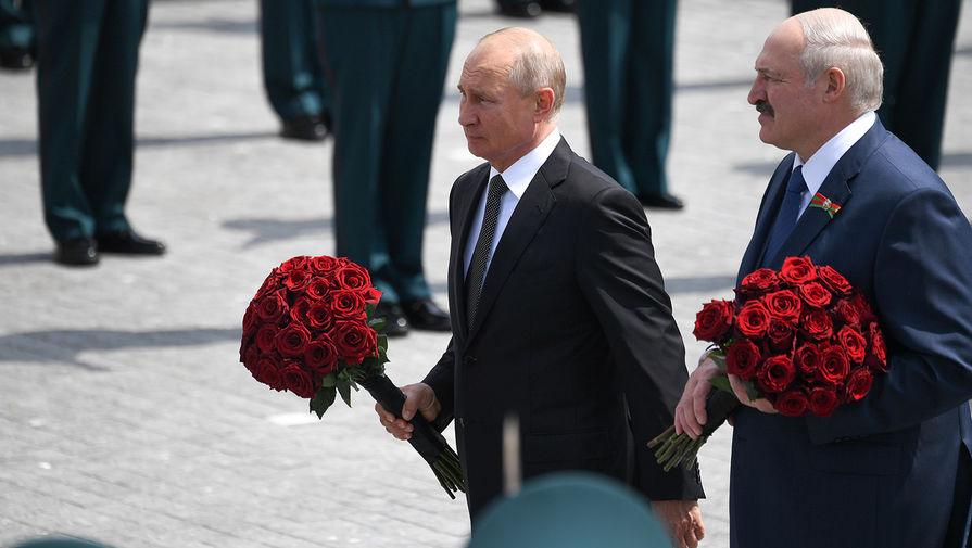 «Дань памяти»: Путин и Лукашенко открыли памятник под Ржевом