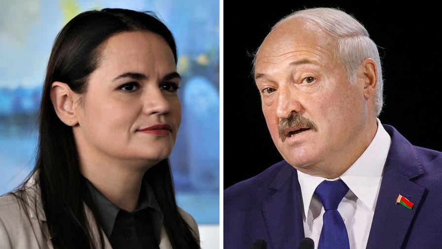 Тихановская пообещала Лукашенко безопасность в случае его мирного ухода