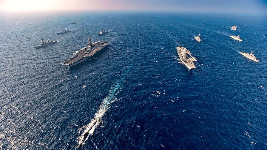 Четверо против Китая: в Аравийском море начались военные учения