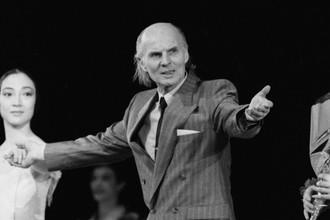 Художественный руководитель театра «Балет России» и главный балетмейстер-постановщик программы Станислав Власов, 29 февраля 1992 г.