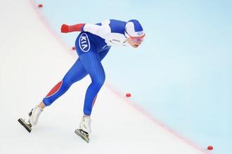 Конькобежка Анна Юракова