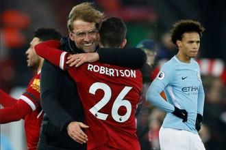 «Манчестер Сити» потерпел первое поражение в чемпионате Англии в сезоне-2017/18