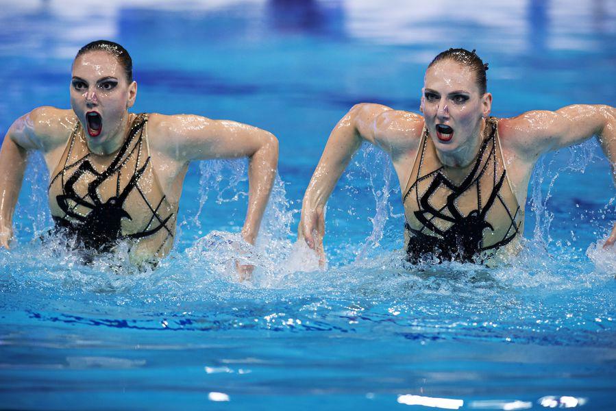 Светлана Ромашина и Светлана Колесниченко (синхронное плавание, дуэты)