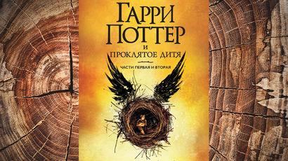 Отрывок книги Дж.К. Роулинг «Гарри Поттер и Проклятое дитя»