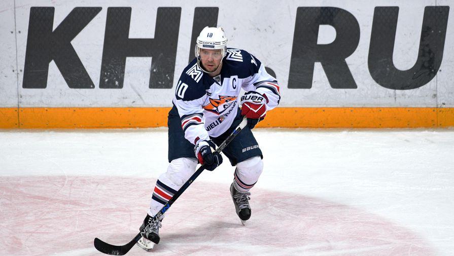 Хоккеист «Магнитки» Сергей Мозякин