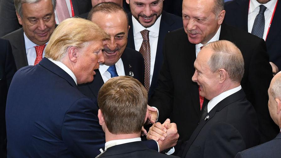 Трамп обсудил с Путиным нового посла США в РФ