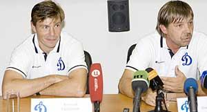 Алексей Кудашов и Олег Знарок
