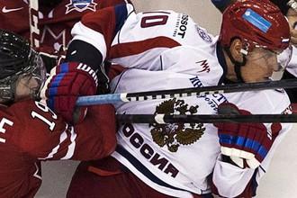 Молодежная сборная России одержала историческую победу над лигой Онтарио