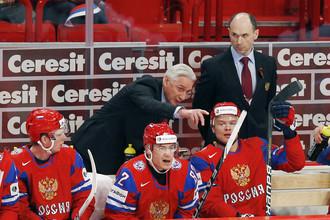 Сборная России сохранила прежний вид