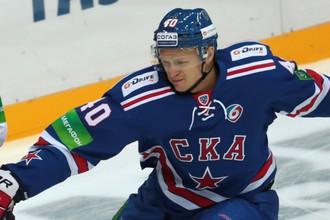 Недавно выступавший за «Северсталь» Евгений Кетов стал автором победной шайбы в ворота своей бывшей команды