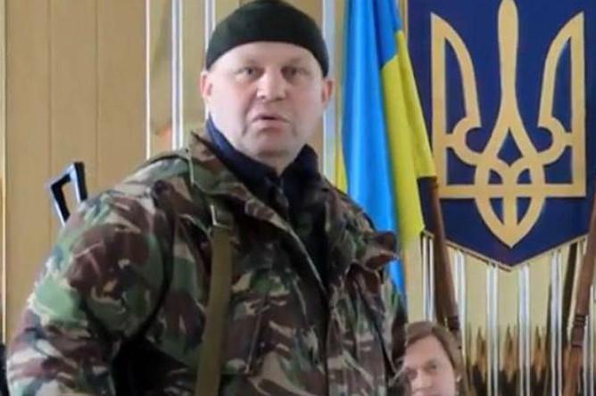 Активист «Правого сектора» Александр Музычко