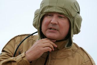 Вице-премьер правительства РФ Дмитрий Рогозин