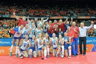 Сборная России завершила двухмесячный игровой марафон победой на чемпионате Европы