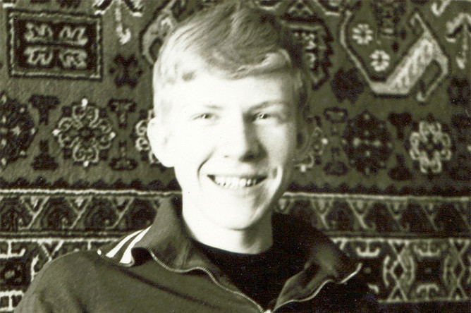 Алексей Кудрин в молодости