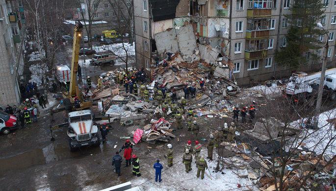 В Ярославле обрушился подъезд жилого дома