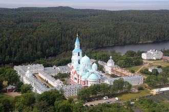 Спасо-Преображенский Валаамский ставропигиальный монастырь, 11 июля 2017 года
