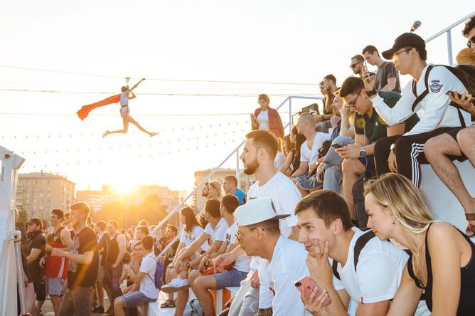 Фестиваль Faces&Laces в московском Парке Горького, 12 августа 2017 года