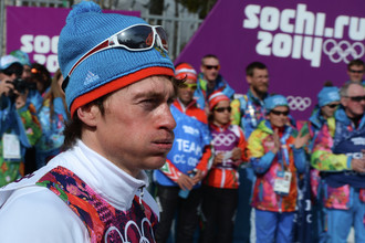 Отстраненный пожизненно российский лыжник Максим Вылегжанин