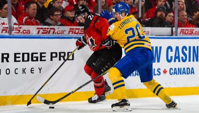 Сборная Канады обыграла команду Швеции