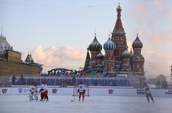 Первый «Матч всех звезд» прошел на Красной площади