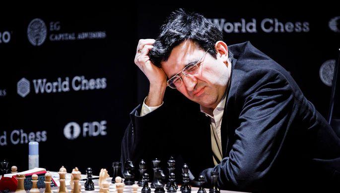 14-й чемпион мира по шахматам Владимир Крамник