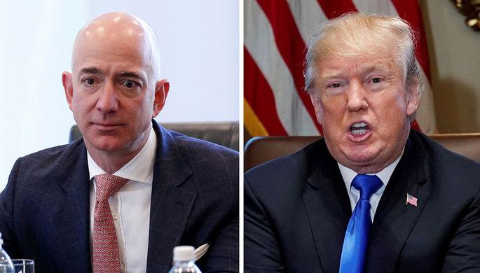 Разногласия с Трампом: Пентагон остановил тендер с участием Amazon