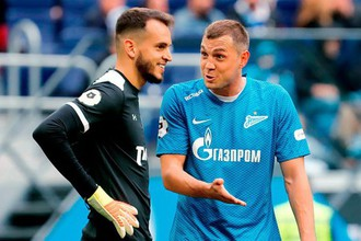 Фрагмент матча «Зенит» — «Локомотив»