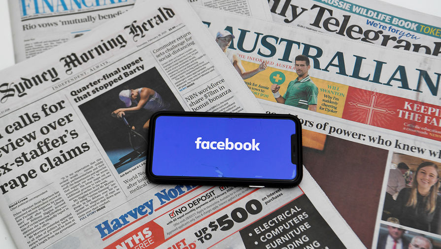 Facebook удалил все публикации австралийских СМИ из-за нового закона