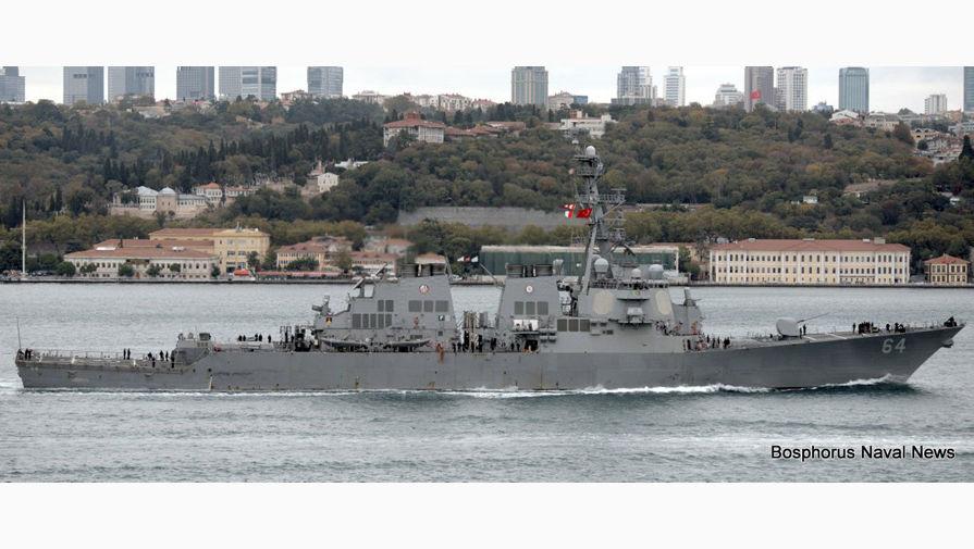 Порошенко встретился с Волкером на борту эсминца США в Одессе