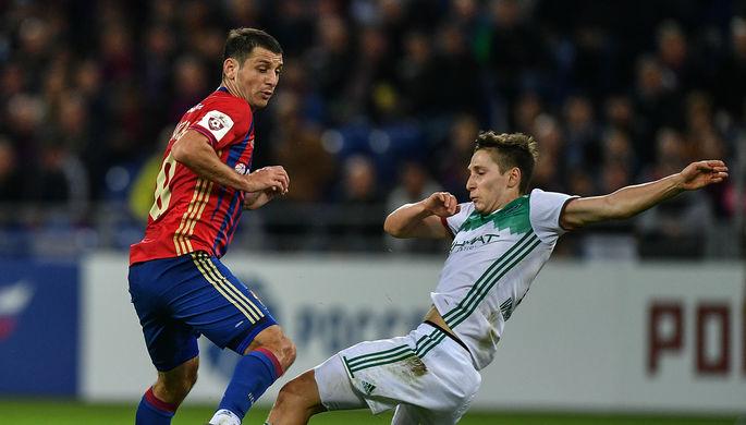 ЦСКА сыграл вничью с «Амкаром» в матче 13-го тура РФПЛ