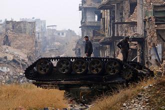 Алеппо, 13 декабря 2016 года