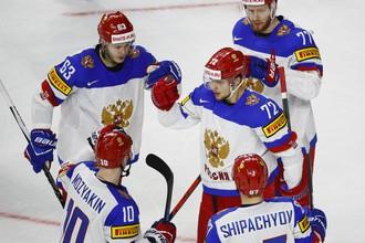 Сборная России пока не знает осечек на чемпионате мира по хоккею
