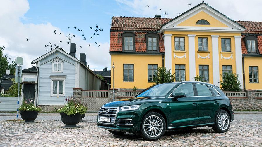Audi Q5 можно оснастить светодиодными или матричными светодиодными фарами с динамическими...