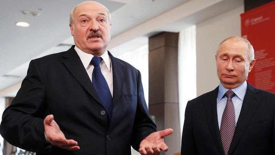 Путин и Лукашенко не стали говорить о «грязной» нефти