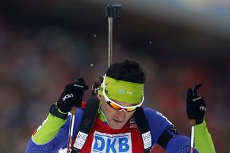 Словенец Якуб Фак стал чемпионом мира по биатлону в индивидуальной гонке