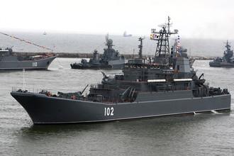 Российский флот попрактикуется в Сирии