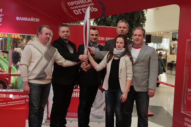 Жителям Красноярского края предоставилась уникальная возможность подать заявку на участие в конкурсе по выбору факелоносцев прямо на выставке