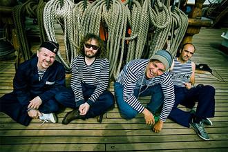 Группа «Мумий-тролль» записывала новую пластинку весь последний год на паруснике «Седов»