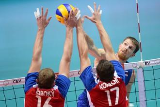 Евгений Сивожелез в поединке с чехами отыграл лучше, чем в матче с Германией